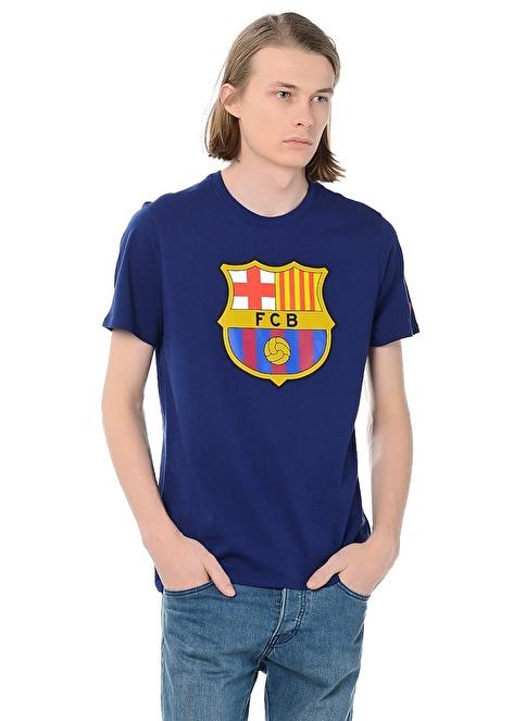 Nike Baskılı Tişört | Barcelona Mavi
